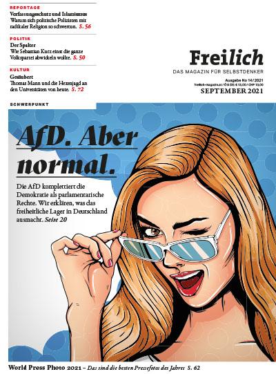 Cover der Freilich-Ausgabe #10