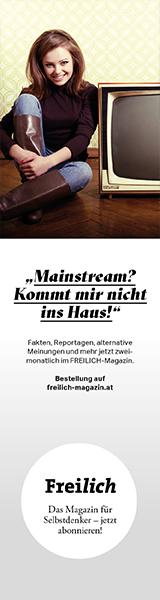 Die neue Ausgabe des Freilich-Magazins ist erschienen.